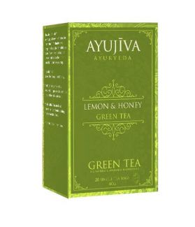 Green Tea with Lemon Honey (Weight Managment)-20 Tea Bags (Each 40G)