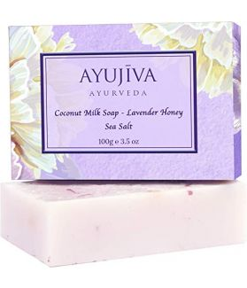 Luxury Classic Coconut Milk Soap With Lavender Honey Sea Salt -100 ge (Skin Brigtening Soap)