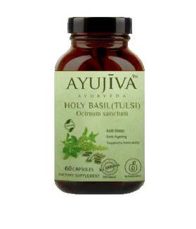Holy Tulsi (Basil/Ocimum Sanctum ) 60 VEG CAPS