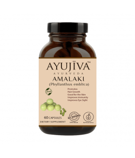 Amalaki (Phyllanthus Emblica) Dietary Supplements - 60 Veg Capsules