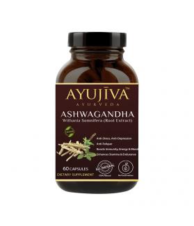 Ashwagandha Capsules-60 Veg Caps