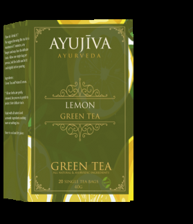 Green Tea with Lemon (Weight Management) -20 Tea Bags (Each 40G)