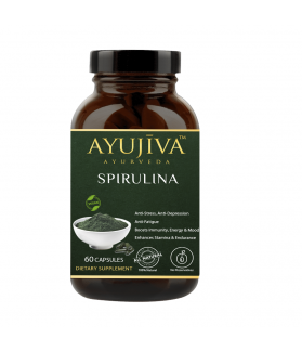 Spirulina Superfood Capsules For Men & Women 500 MG 60 CAPSULES