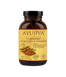 A Turmeric Curcumin Extract with Piperine and 95% Curcuminoids Veg Capsules - 60 Capsules